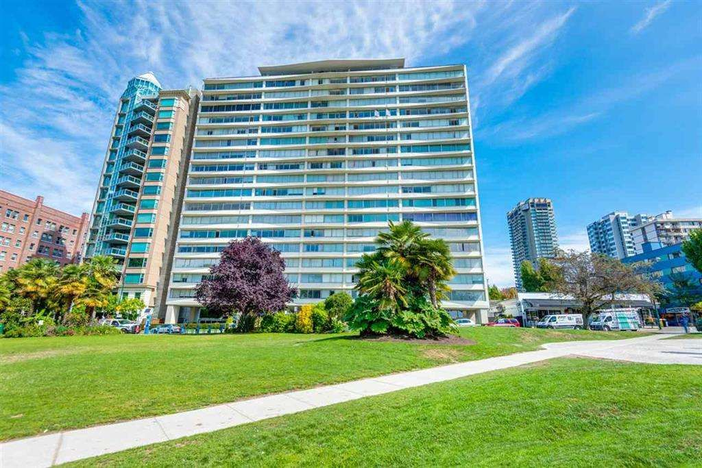 """Main Photo: 503 1835 MORTON Avenue in Vancouver: West End VW Condo for sale in """"OCEAN TOWERS"""" (Vancouver West)  : MLS®# R2567245"""