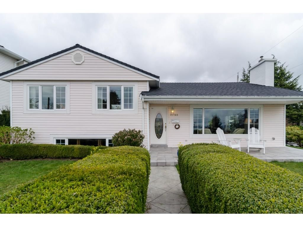 "Main Photo: 15789 CLIFF Avenue: White Rock House for sale in ""EAST BEACH HILLSIDE"" (South Surrey White Rock)  : MLS®# R2456817"