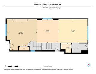 Photo 38: 8851 92 Street in Edmonton: Zone 18 House for sale : MLS®# E4226175