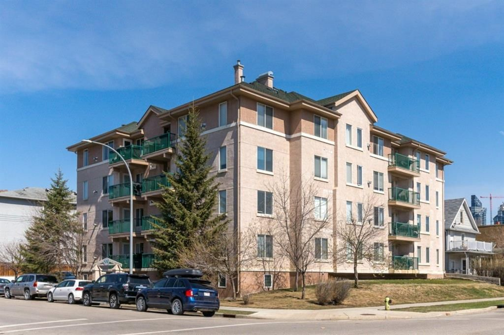 Main Photo: 304 1110 17 Street SW in Calgary: Sunalta Apartment for sale : MLS®# A1141399
