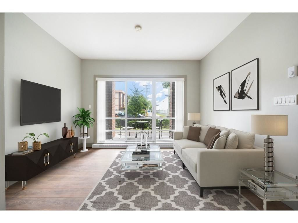 """Main Photo: 108 6875 DUNBLANE Avenue in Burnaby: Metrotown Condo for sale in """"SUBORA LIVING"""" (Burnaby South)  : MLS®# R2611213"""