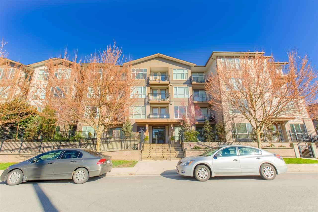 """Main Photo: 319 2343 ATKINS Avenue in Port Coquitlam: Central Pt Coquitlam Condo for sale in """"PEARL"""" : MLS®# R2445932"""