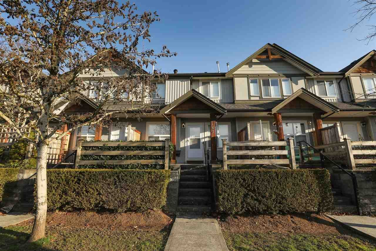 """Main Photo: 63 1055 RIVERWOOD Gate in Port Coquitlam: Riverwood Townhouse for sale in """"Mountain View Estates"""" : MLS®# R2446055"""