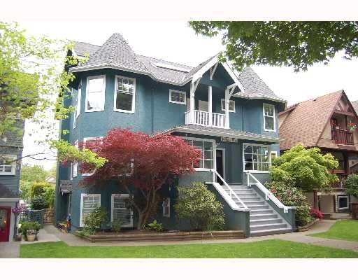 Main Photo: 1 149 W 13TH Avenue in Vancouver: Mount Pleasant VW Townhouse for sale (Vancouver West)  : MLS®# V649498