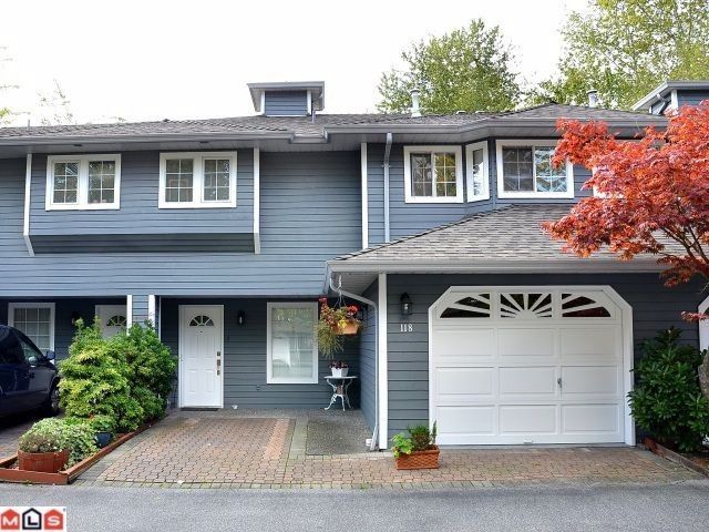"""Main Photo: 118 16335 14TH Avenue in Surrey: King George Corridor Townhouse for sale in """"Pebble Creek Estates"""" (South Surrey White Rock)  : MLS®# F1127530"""