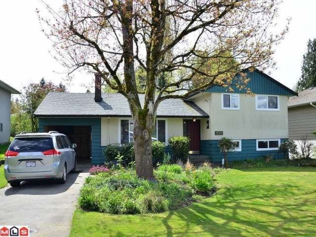 Main Photo: 11502 94A Avenue in Delta: Annieville House for sale (N. Delta)  : MLS®# F1210507