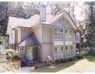 """Photo 1: 3 65 FOXWOOD DR in Port Moody: Heritage Mountain Townhouse for sale in """"FOREST HILL"""" : MLS®# V576719"""