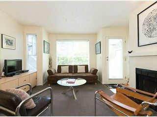 """Photo 6: # 6 877 W 7TH AV in Vancouver: Fairview VW Townhouse for sale in """"EMERALD COURT"""" (Vancouver West)  : MLS®# V1028020"""