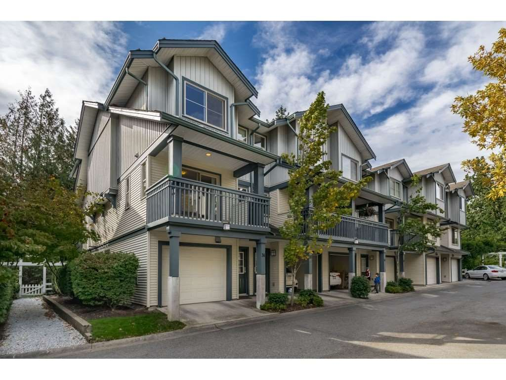 """Main Photo: 34 19250 65 Avenue in Surrey: Clayton Townhouse for sale in """"Sunberry Court"""" (Cloverdale)  : MLS®# R2409973"""