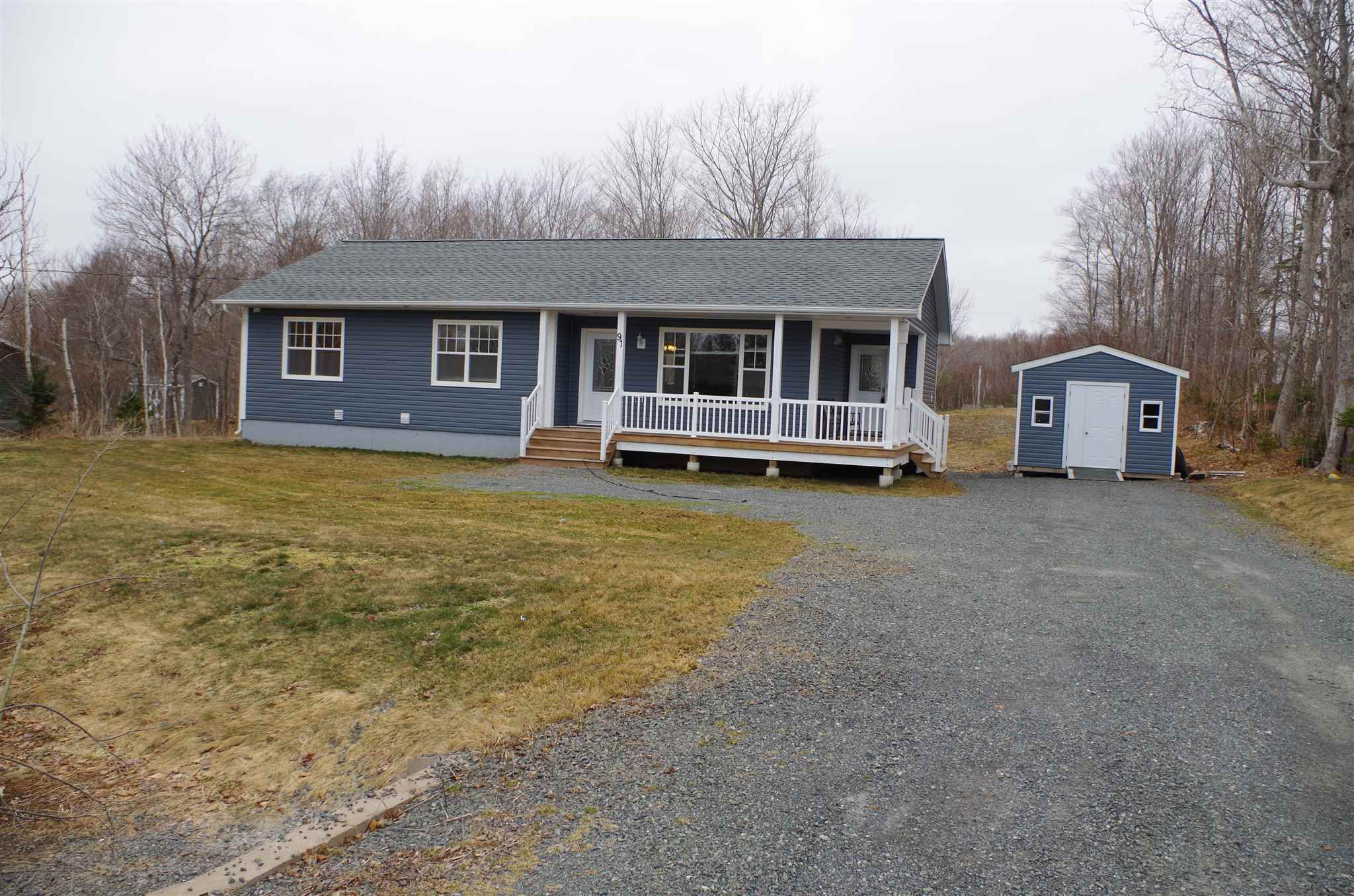 Main Photo: 91 Brandy Drive in Howie Centre: 202-Sydney River / Coxheath Residential for sale (Cape Breton)  : MLS®# 202107026