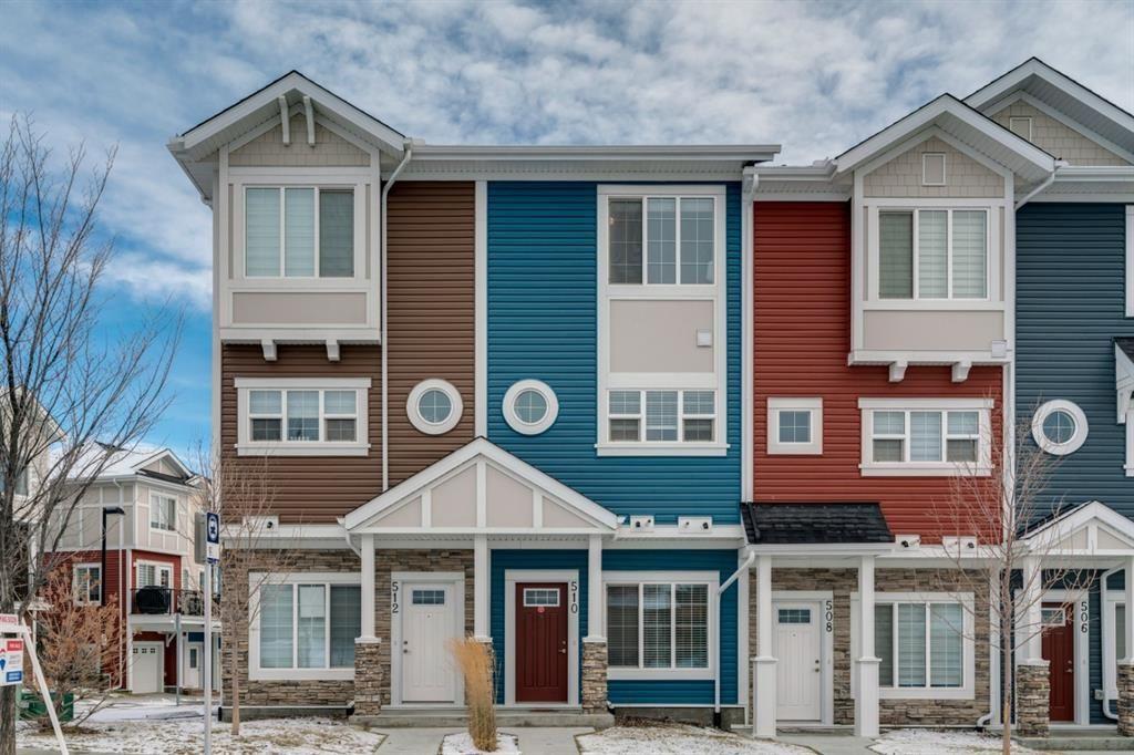 Main Photo: 510 Nolan Hill Boulevard NW in Calgary: Nolan Hill Row/Townhouse for sale : MLS®# A1050791