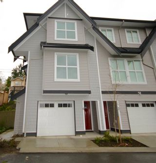 """Photo 1: 6 14450 68 Avenue in Surrey: East Newton Townhouse for sale in """"SPRING HEIGHTS"""" : MLS®# R2151954"""