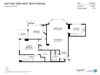 """Photo 16: 504 2108 W 38TH Avenue in Vancouver: Kerrisdale Condo for sale in """"The Wilshire"""" (Vancouver West)  : MLS®# R2400833"""