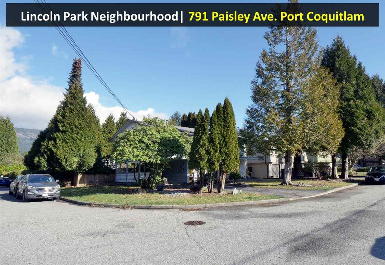 Main Photo: 791 PAISLEY Avenue in Port Coquitlam: Lincoln Park PQ House for sale : MLS®# R2540033
