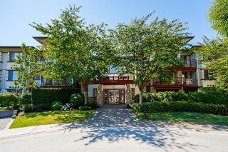 """Photo 1: 208 16421 64 Avenue in Surrey: Cloverdale BC Condo for sale in """"St. Andrews"""" (Cloverdale)  : MLS®# R2603809"""