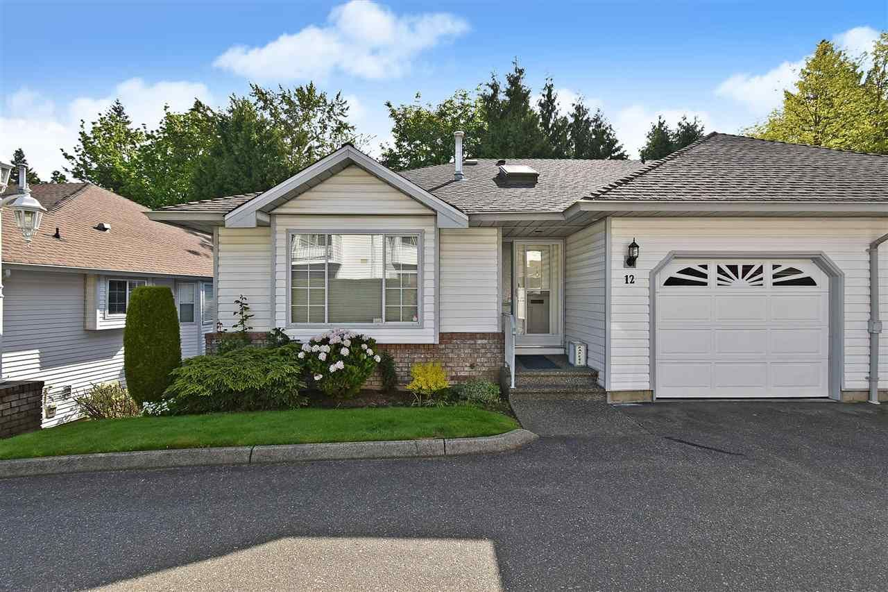 """Main Photo: 12 2988 HORN Street in Abbotsford: Central Abbotsford Townhouse for sale in """"CREEKSIDE PARK"""" : MLS®# R2590277"""