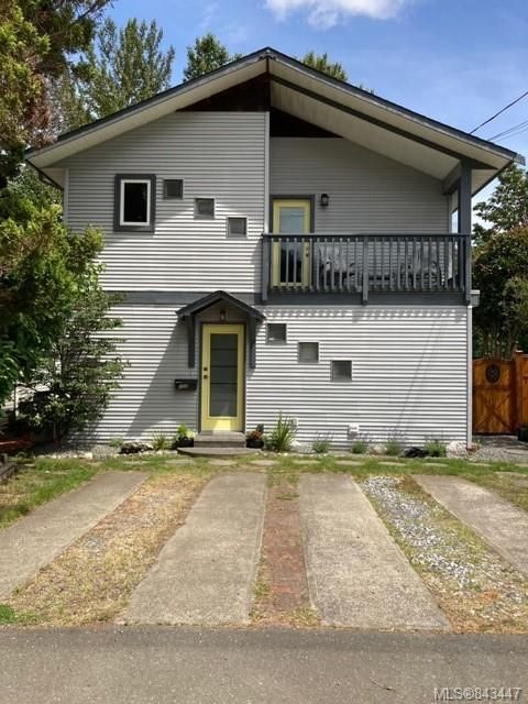 Main Photo: B 190 Cliffe Ave in COURTENAY: CV Courtenay City Half Duplex for sale (Comox Valley)  : MLS®# 843447