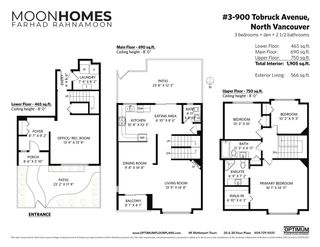 """Photo 27: 3 900 TOBRUCK Avenue in North Vancouver: Mosquito Creek Townhouse for sale in """"Heywood Lane"""" : MLS®# R2589572"""