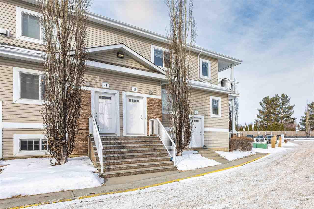 Main Photo: 46D 79 BELLEROSE Drive: St. Albert Carriage for sale : MLS®# E4229583