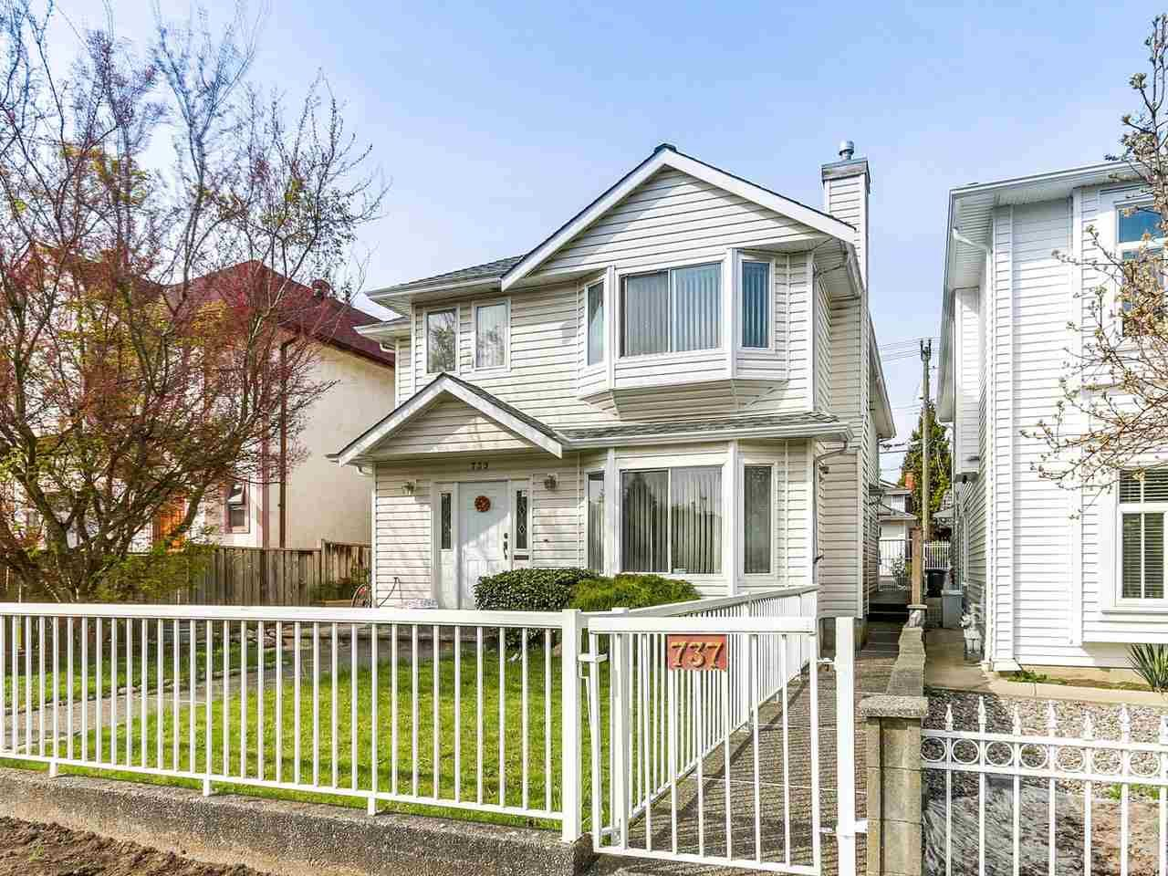 Main Photo: 737 W 69TH Avenue in Vancouver: Marpole 1/2 Duplex for sale (Vancouver West)  : MLS®# R2156415