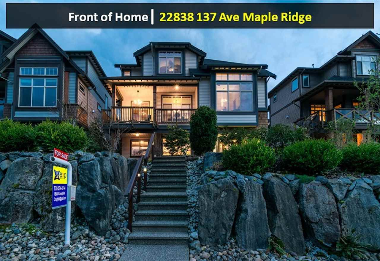 "Main Photo: 22838 137 Avenue in Maple Ridge: Silver Valley House for sale in ""SILVER VALLEY"" : MLS®# R2537934"