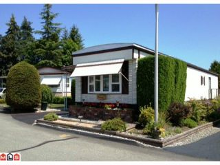 """Photo 1: 88 15875 20TH Avenue in Surrey: King George Corridor Manufactured Home for sale in """"SEA RIDGE BAYS"""" (South Surrey White Rock)  : MLS®# F1219430"""