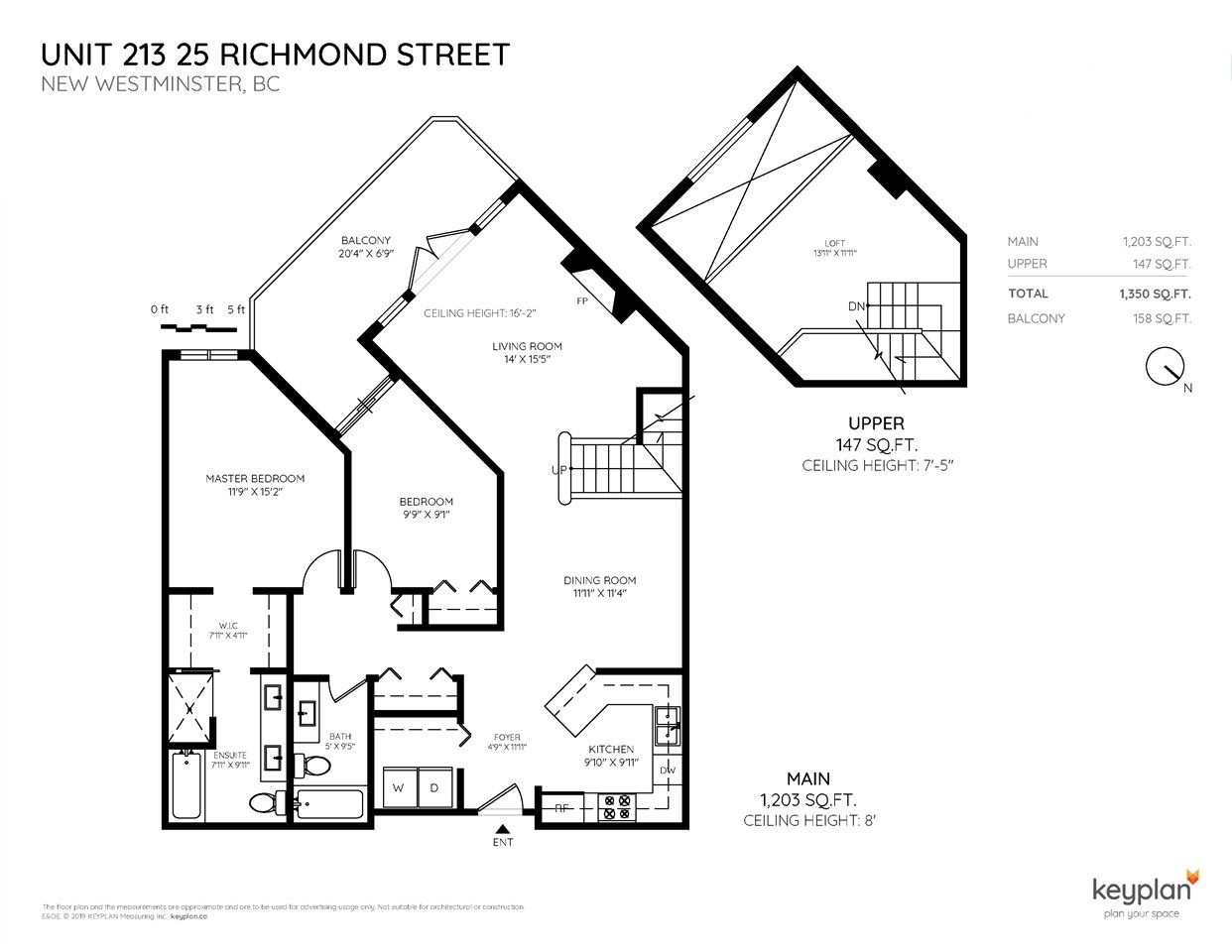 Photo 2: Photos: 213 25 RICHMOND STREET in New Westminster: Fraserview NW Condo for sale : MLS®# R2357441