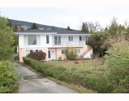 Main Photo: 2557 MARINE Drive in West Vancouver: Dundarave House for sale : MLS®# V809921