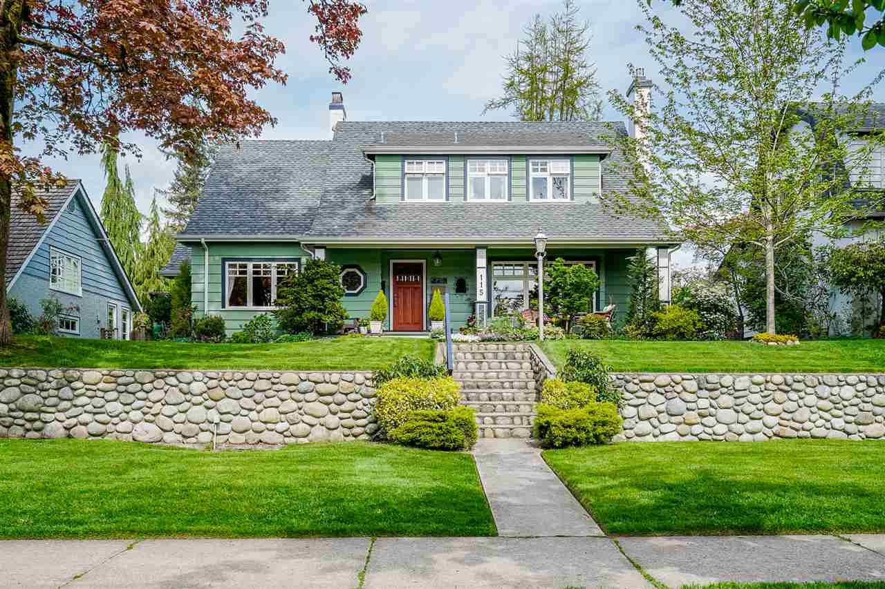 """Main Photo: 115 QUEENS Avenue in New Westminster: Queens Park House for sale in """"Queens Park"""" : MLS®# R2453712"""