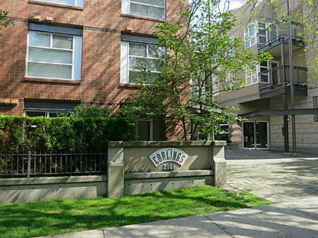 Main Photo: 409 2181 W 12TH AVENUE in : Kitsilano Condo for sale (Vancouver West)  : MLS®# V1111292