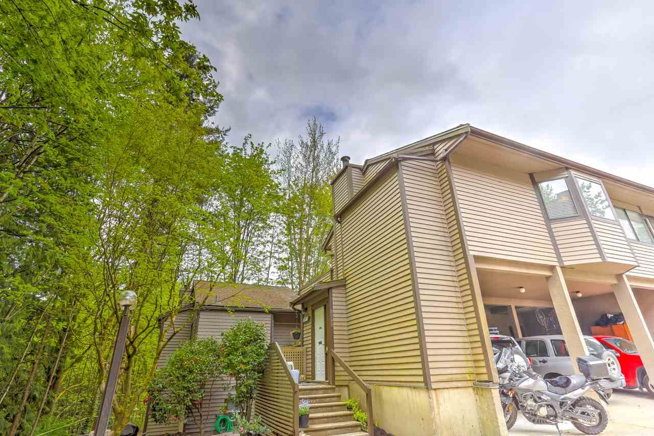 """Main Photo: 8588 WILDERNESS Court in Burnaby: Forest Hills BN Townhouse for sale in """"Simon Fraser Village"""" (Burnaby North)  : MLS®# R2452701"""