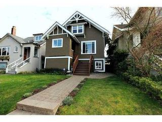Photo 1: 116 20TH Ave W in Vancouver West: Cambie Home for sale ()  : MLS®# V943731