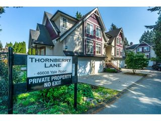 "Photo 2: 5 46608 YALE Road in Chilliwack: Chilliwack E Young-Yale Townhouse for sale in ""Thornberry Lane"" : MLS®# R2267877"
