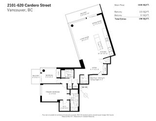 """Photo 19: 2101 620 CARDERO Street in Vancouver: Coal Harbour Condo for sale in """"CARDERO"""" (Vancouver West)  : MLS®# R2620274"""