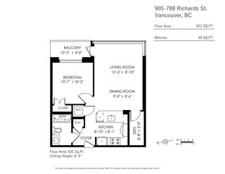 """Photo 20: 905 788 RICHARDS Street in Vancouver: Downtown VW Condo for sale in """"L'Hermitage"""" (Vancouver West)  : MLS®# R2458988"""