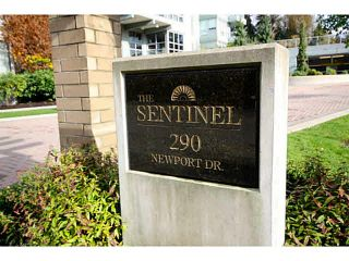 "Photo 2: 1101 290 NEWPORT Drive in Port Moody: North Shore Pt Moody Condo for sale in ""The Sentinal"" : MLS®# V1092744"