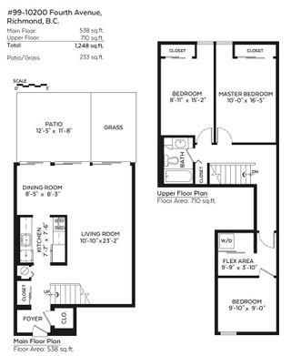 "Photo 13: 99 10200 4TH Avenue in Richmond: Steveston North Townhouse for sale in ""MANOAH VILLAGE"" : MLS®# R2074492"