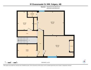 Photo 34: 81 Evansmeade Circle NW in Calgary: Evanston Detached for sale : MLS®# A1089333