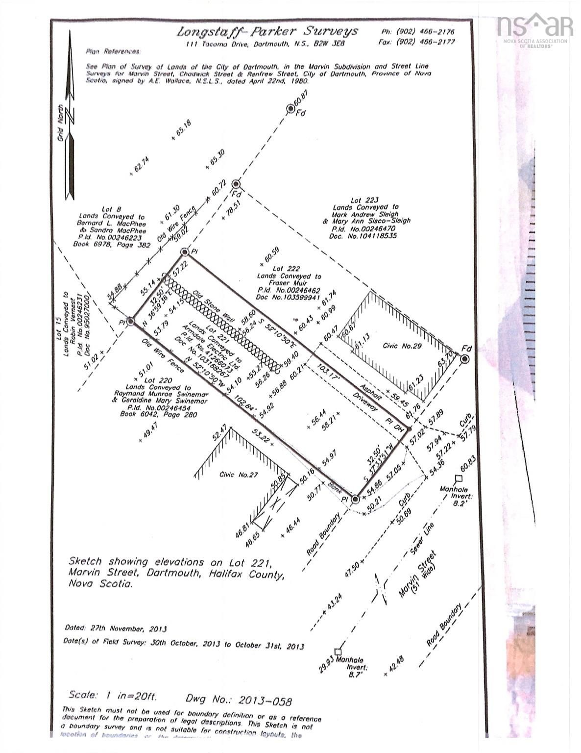 Main Photo: 221 29A Marvin Street in Dartmouth: 12-Southdale, Manor Park Vacant Land for sale (Halifax-Dartmouth)  : MLS®# 202123111
