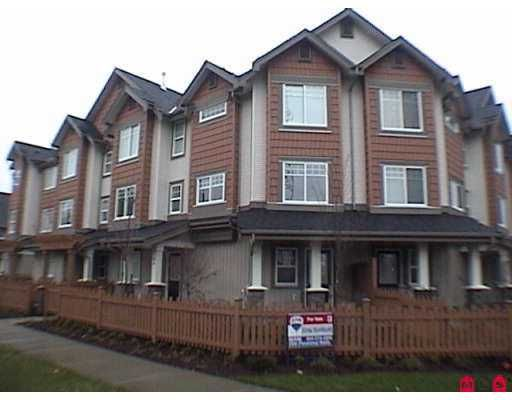 "Main Photo: 8717 159TH Street in Surrey: Fleetwood Tynehead Townhouse for sale in ""Springfield Gardens"" : MLS®# F2623924"