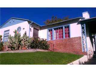 Photo 1: NORTH PARK House for sale : 2 bedrooms : 3585 Alabama Street in San Diego