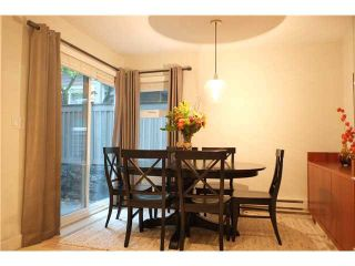 """Photo 2: 2411 W 5TH Avenue in Vancouver: Kitsilano Townhouse  in """"BALSAM CORNERS"""" (Vancouver West)  : MLS®# V1100926"""