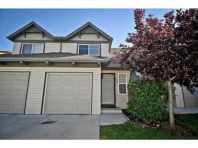 Main Photo: 134 EVERSTONE Place SW in CALGARY: Evergreen Townhouse for sale (Calgary)  : MLS®# C3636844