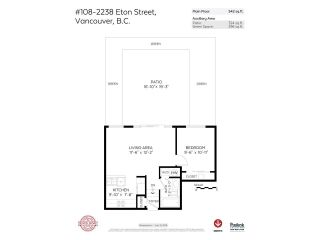 """Photo 16: 108 2238 ETON Street in Vancouver: Hastings Condo for sale in """"ETON HEIGHTS"""" (Vancouver East)  : MLS®# R2235764"""