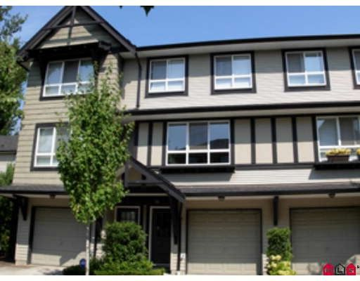 """Main Photo: 28 6747 203RD Street in Langley: Willoughby Heights Townhouse for sale in """"Sagebrook"""" : MLS®# F2824967"""