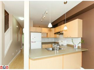 """Photo 6: 22 18701 66TH Avenue in Surrey: Cloverdale BC Townhouse for sale in """"ENCORE"""" (Cloverdale)  : MLS®# F1215196"""