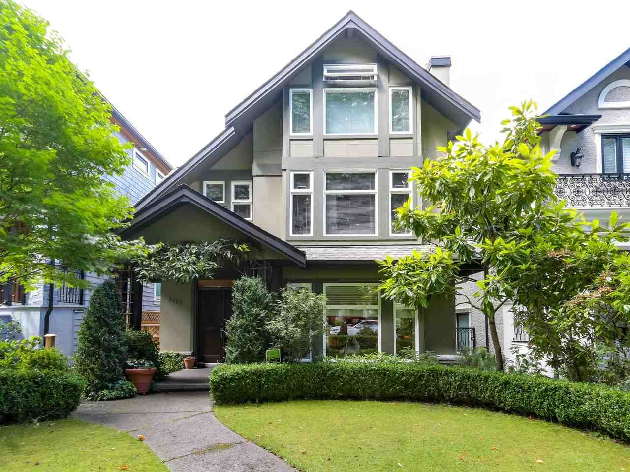 Main Photo: 3727 W 22ND Avenue in Vancouver: Dunbar House for sale (Vancouver West)  : MLS®# R2079787