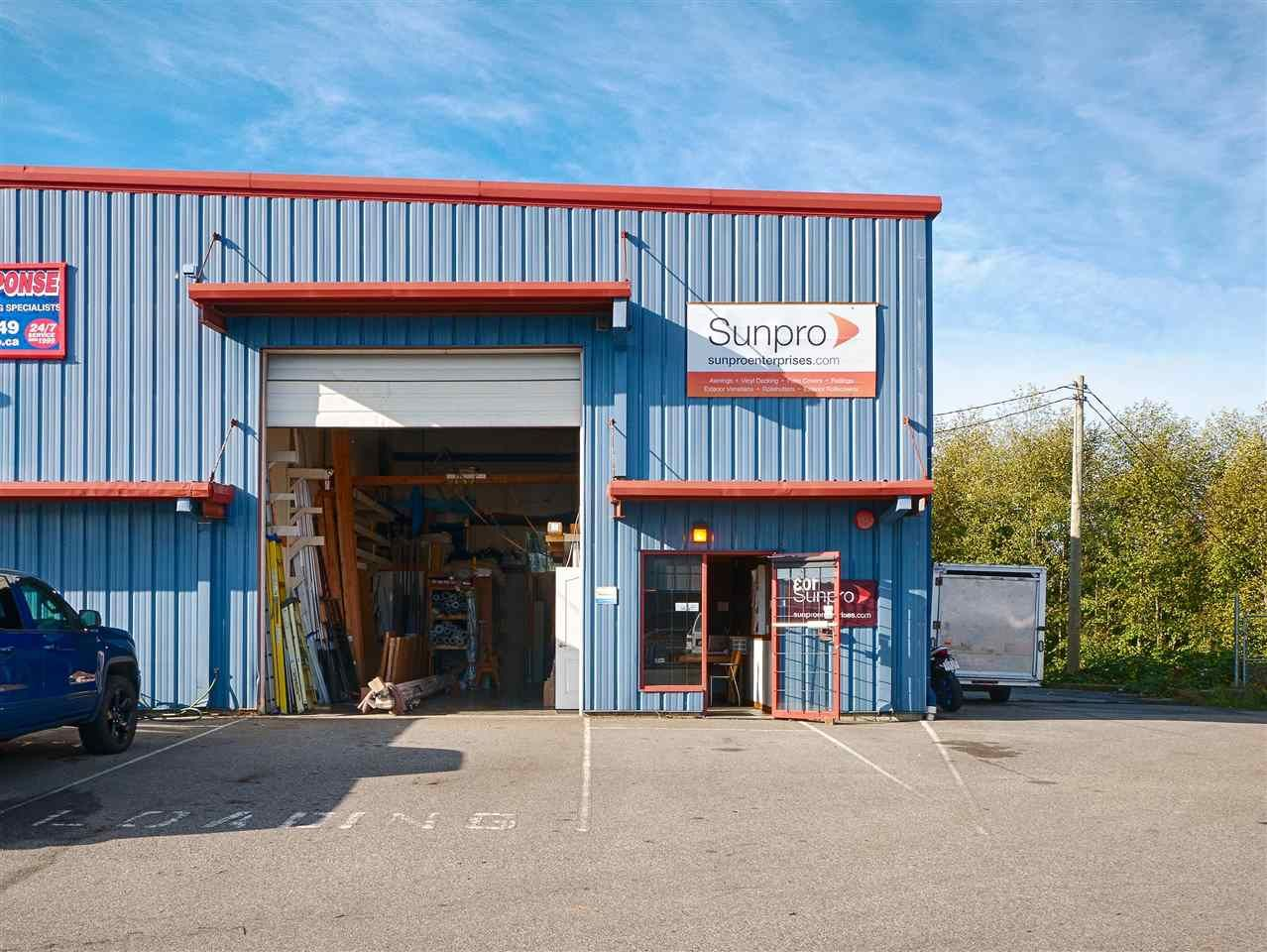 Main Photo: 103 1873 COSYAN Place in Sechelt: Sechelt District Industrial for sale (Sunshine Coast)  : MLS®# C8028321