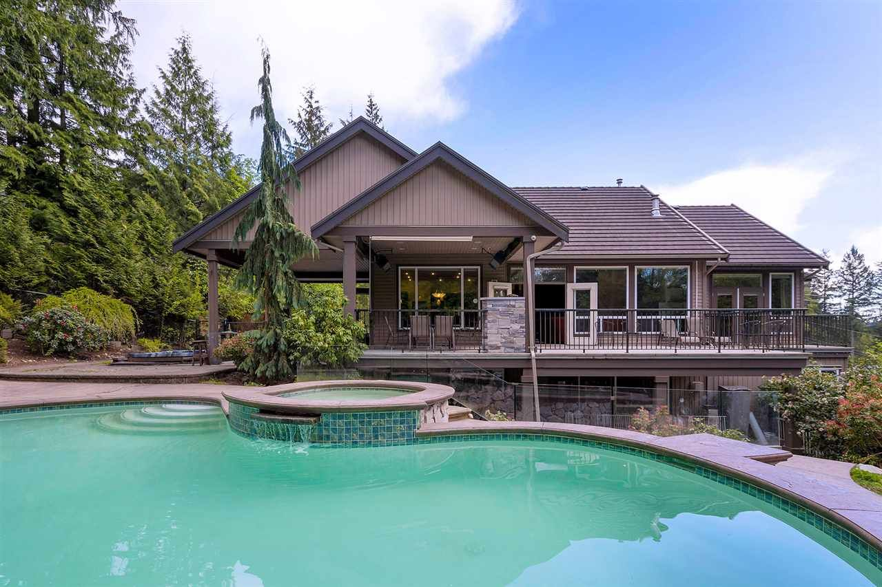 Main Photo: 712 SPENCE Way: Anmore House for sale (Port Moody)  : MLS®# R2496984