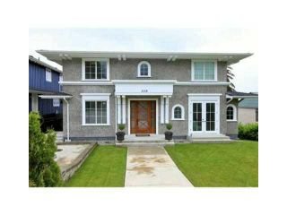 Photo 1: 1218 GORDON AV in West Vancouver: Ambleside House for sale : MLS®# V1047508